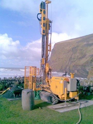 Ground Source Heat Pump Boreholes Cornwall