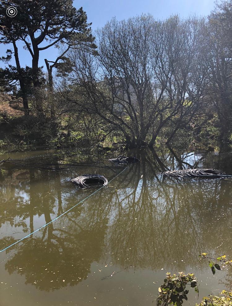 Ground Source Heat Pump Pond Mats Cornwall