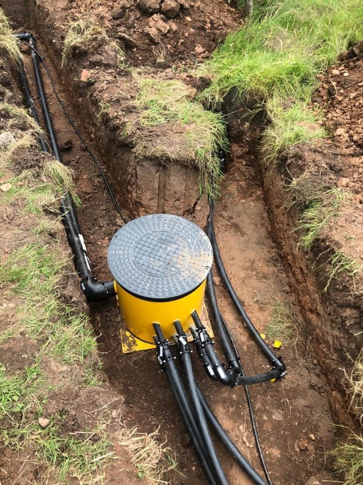 Ground Source Heat Pump Trenches Cornwall
